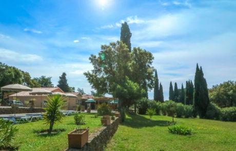 Parc, jardin & transat de la Ferme des Janets, Salle séminaire, réception, mariage, à Bormes les Mimosas
