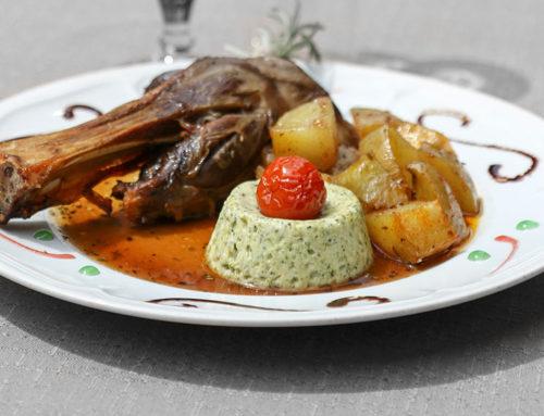 Menu Gourmand au restaurant La Ferme des Janets, près de Hyères VAR 83