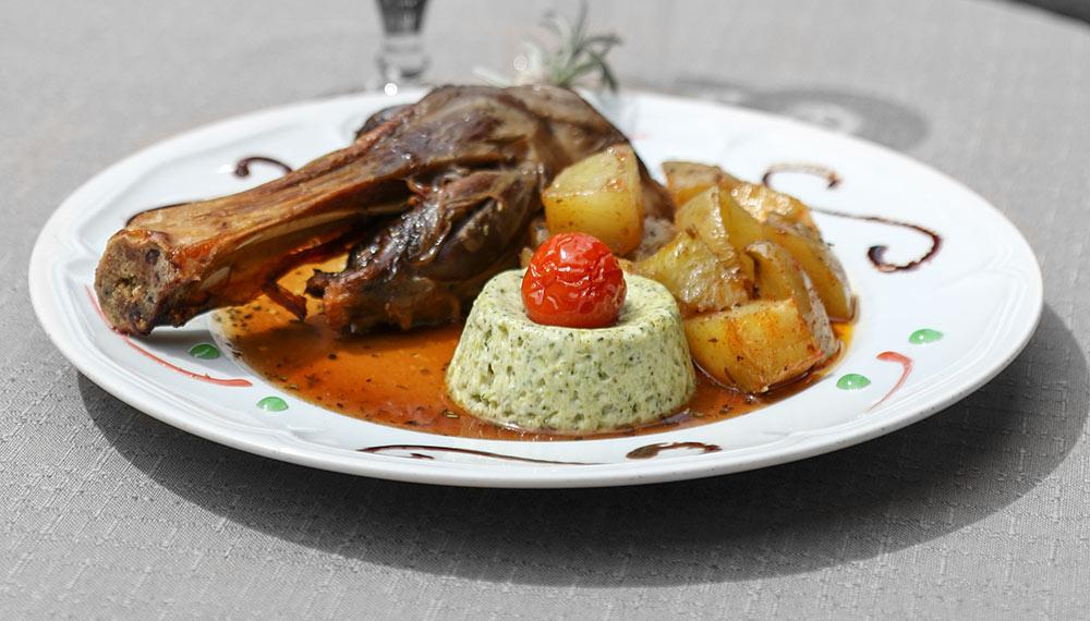 Menu Gourmand au Restaurant La ferme des Janets Hyères Bormes Lavandou Var 83 Côte d'Azur